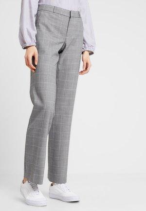 OLX LOGAN WINDOWPANE - Pantalon classique - light grey