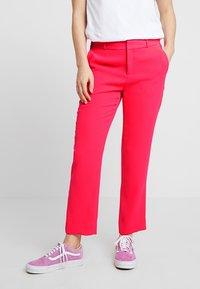 Banana Republic - AVERY CREPE SOLID PANT - Pantaloni - hot pink - 0