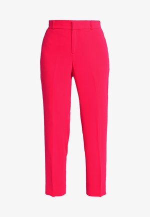 AVERY CREPE SOLID PANT - Trousers - hot pink