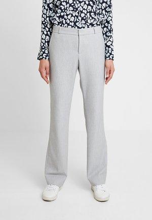 LOGAN BIRDSEYE - Trousers - grey