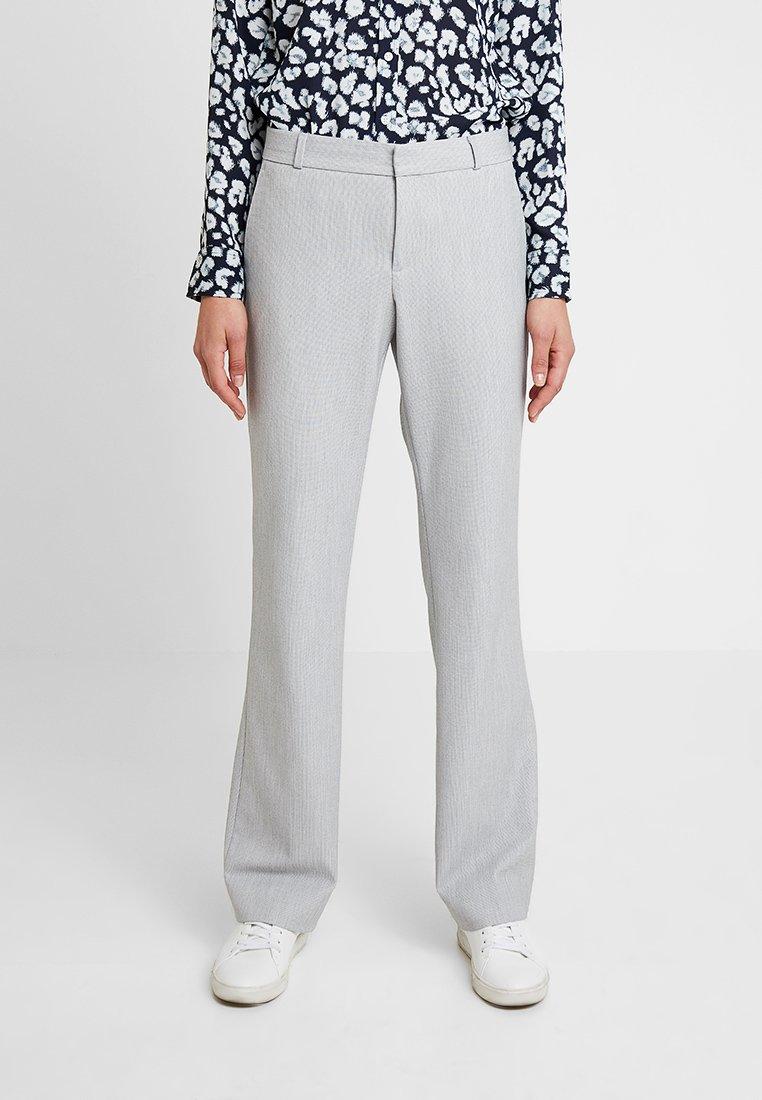Banana Republic - LOGAN BIRDSEYE - Pantalon classique - grey
