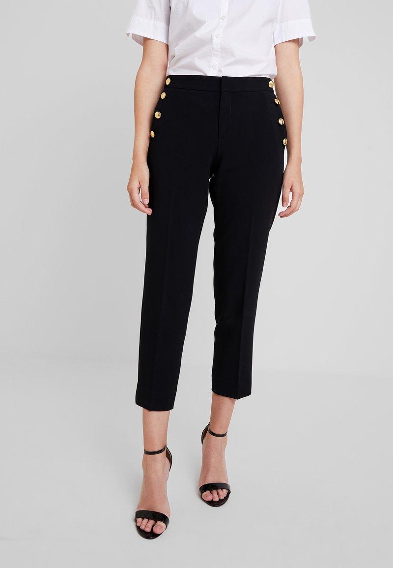 Banana Republic - AVERY SAILOR PANT - Trousers - black