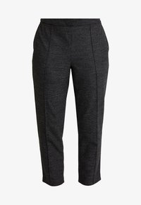 Banana Republic - HAYDEN PINTUCK BRUSHED TEXTURE - Pantaloni - dark grey - 4