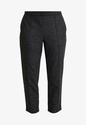 HAYDEN PINTUCK BRUSHED TEXTURE - Trousers - dark grey