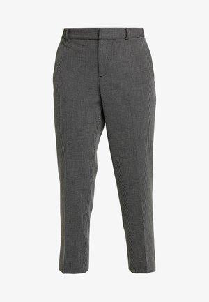 AVERY PINDOT - Trousers - black/white