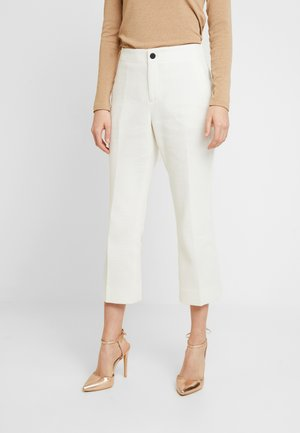 CROPPED KICK FLARE - Trousers - snow day