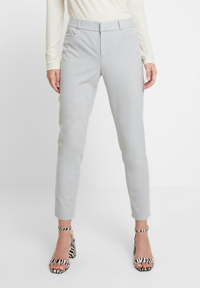 SLOAN BRUSHED SOLIDS - Pantaloni - light grey