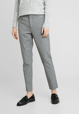 SLOAN TEXTURE PANT - Trousers - dark grey