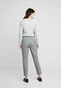 Banana Republic - SLOAN TEXTURE PANT - Trousers - dark grey - 3