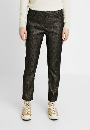 SLOAN SPARKLE - Trousers - gold