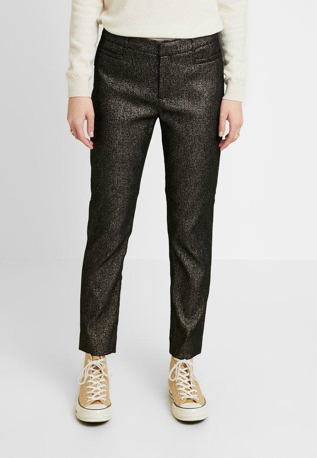 SLOAN SPARKLE - Pantalon classique - gold