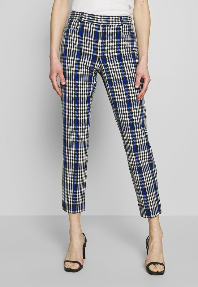 SLOAN JAN PLACEHOLDER - Pantalon classique - midnight gingham