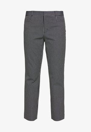 SLOAN SANDY STRIPE - Trousers - preppy navy