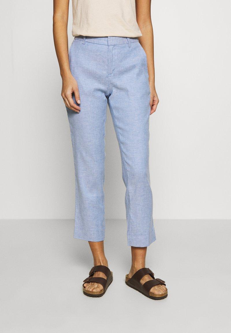 Banana Republic - AVERY SOLIDS - Trousers - sky blue