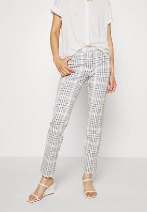 MODERN SLOAN LEXI PLAID - Trousers - blue plaid