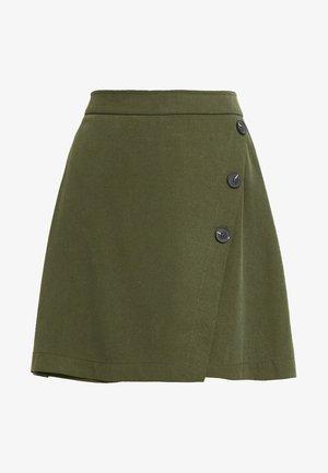 PENCIL SKIRT UTILITY - Wrap skirt - khaki