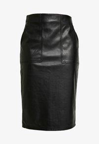 Banana Republic - WASHABLE - Pouzdrová sukně - black - 4