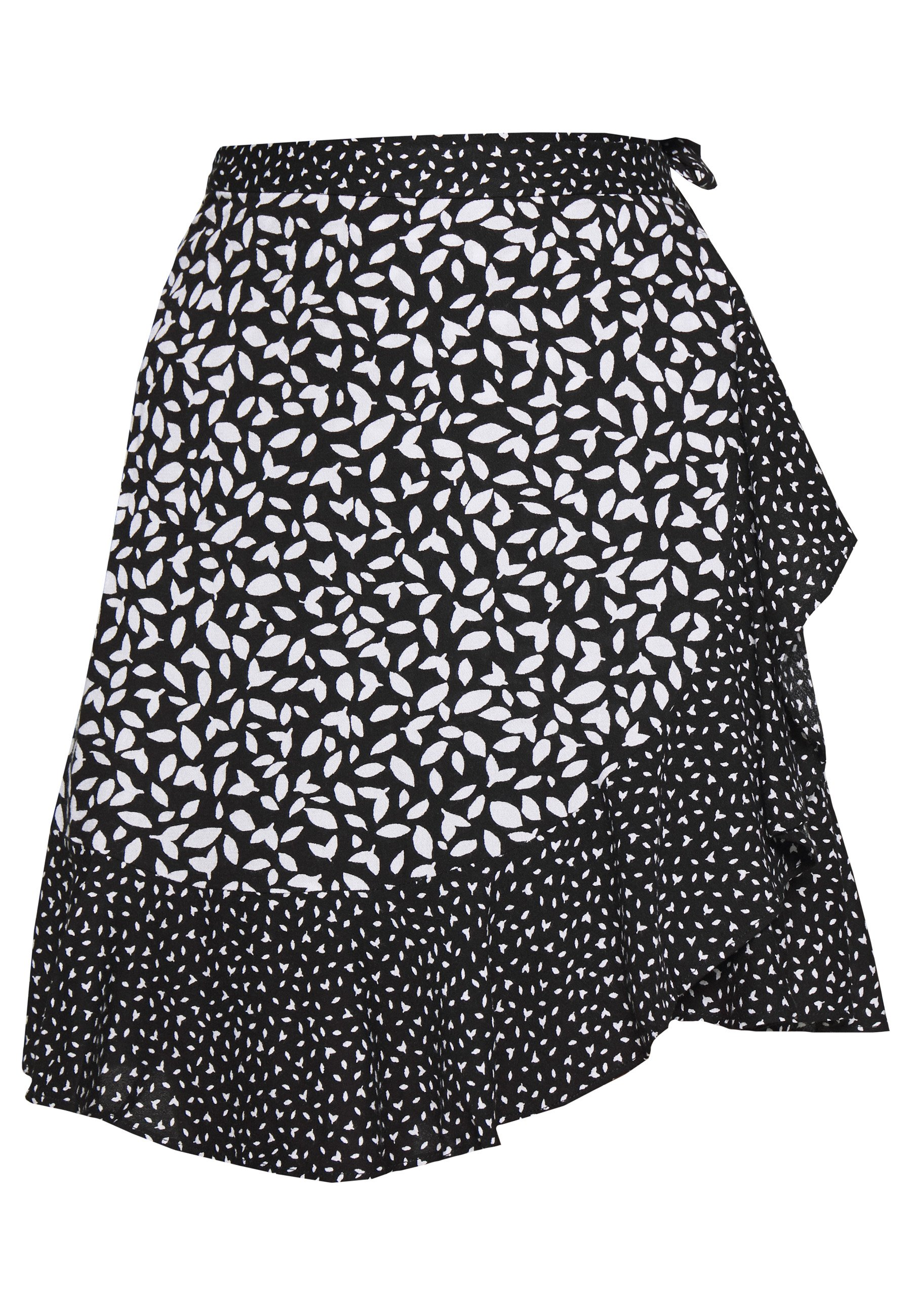 Banana Republic Ruffle Mini Skirt - Wrap Black