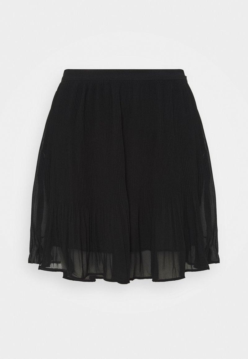 Banana Republic - PLISSE - Mini skirt - black