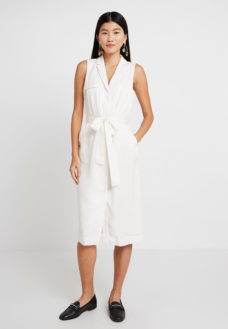 Banana Republic - TRENCH DRESS SOLID - Day dress - snow day