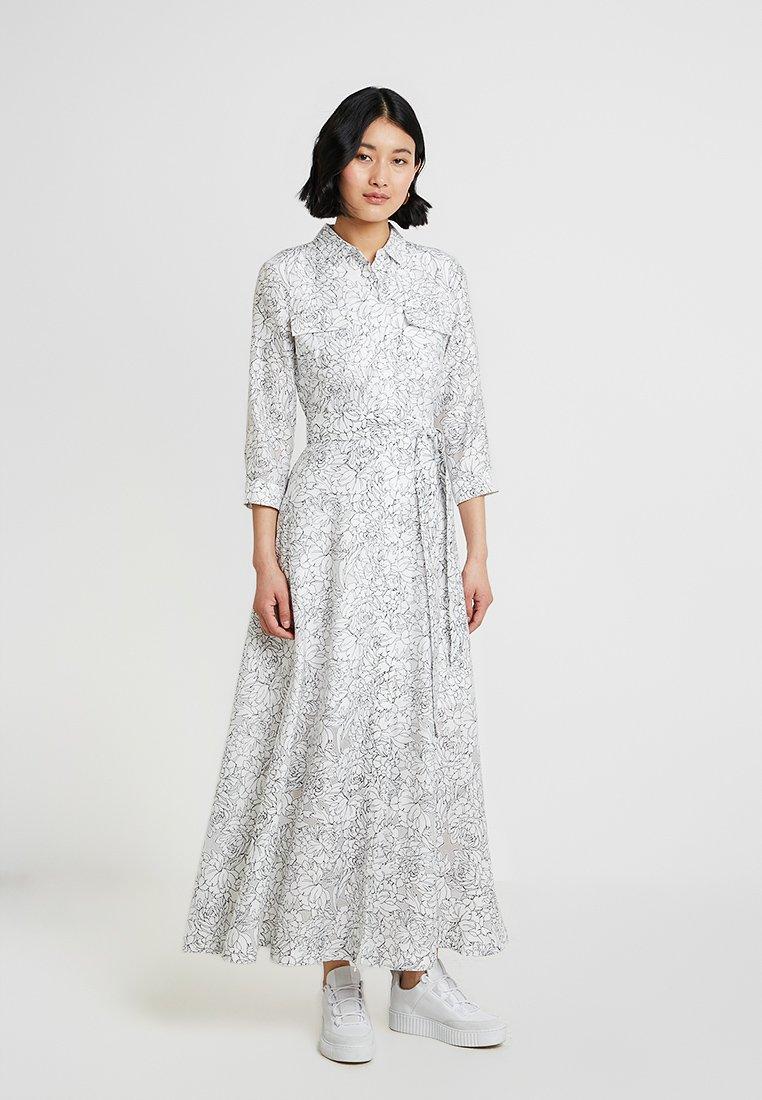 Banana Republic - DRESS HELENA FLORAL - Blusenkleid - black/blanco