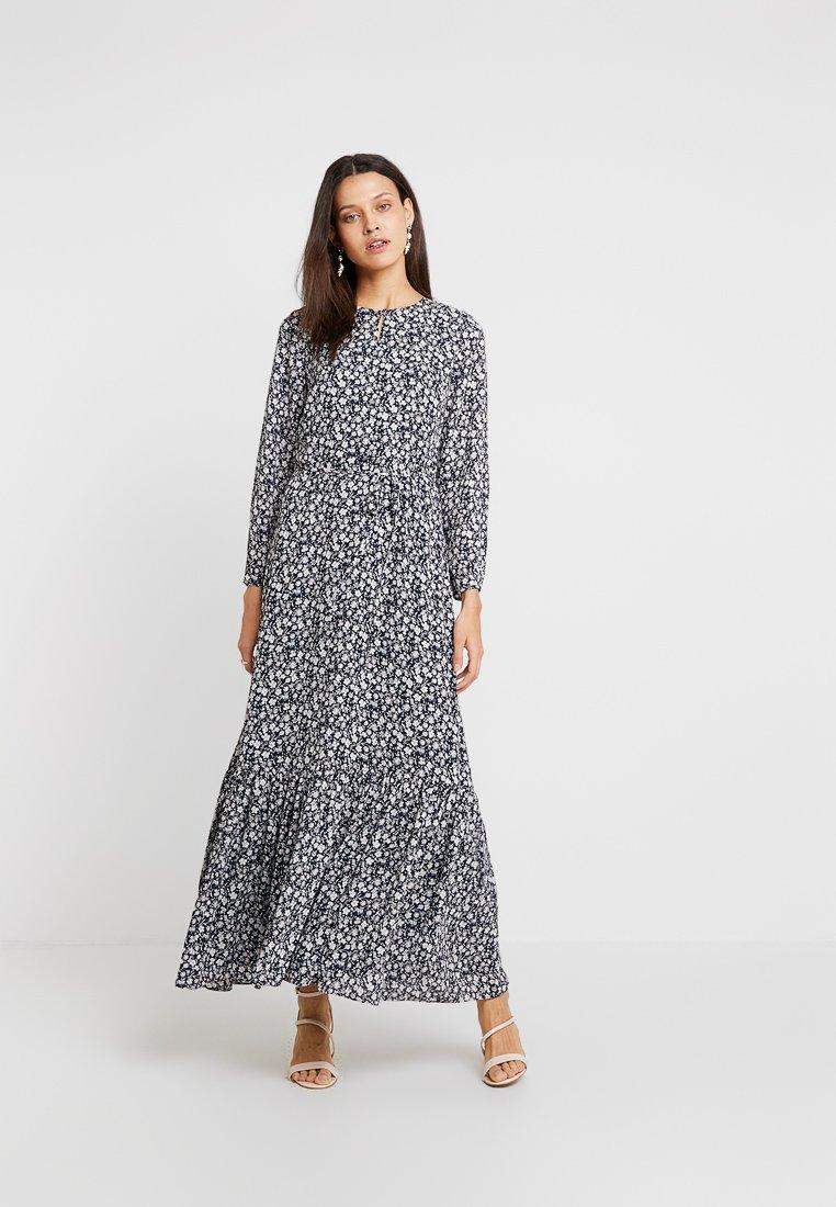Banana Republic - KEYHOLE DRESS FLORAL - Maxi dress - multi-coloured