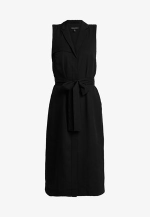 TRENCH DRESS - Vestito estivo - black