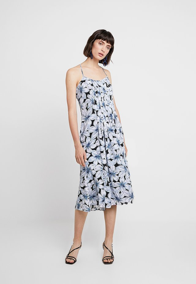 PINTUCK MIDI DRESS PRINT - Hverdagskjoler - multi-coloured