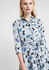 Banana Republic - SAVANNAH MAXI DRESS ETCHED FLORAL - Maxi šaty - dark blue - 4