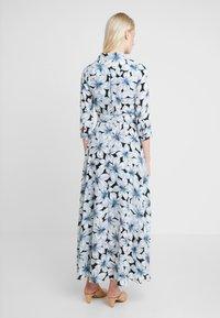 Banana Republic - SAVANNAH MAXI DRESS ETCHED FLORAL - Maxi šaty - dark blue - 2