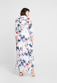 Banana Republic - SAVANNAH DRESS FLORAL TROPICAL BLOOMS - Maxikjole - white - 2