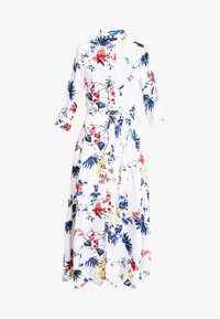 Banana Republic - SAVANNAH DRESS FLORAL TROPICAL BLOOMS - Maxikjole - white - 5