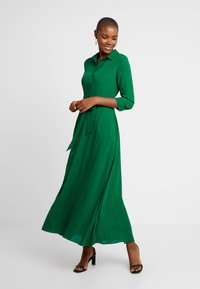 Banana Republic - SAVANNAH DRESS - Maxi-jurk - luscious green - 0