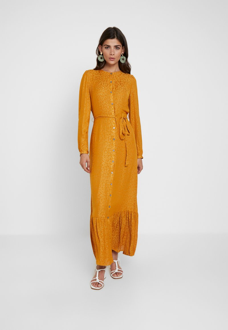 Banana Republic - LEOPARD - Robe longue - gold