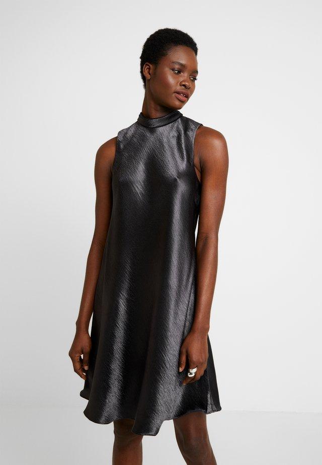 HIGH NECK SHIFT - Cocktail dress / Party dress - dark charcoal