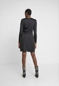 Banana Republic - WRAP SHEATH SOLID SOFT - Day dress - black - 3