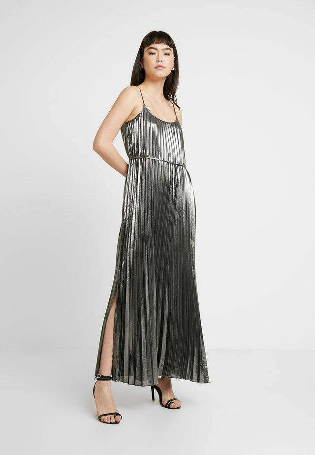 PLEATED - Abito da sera - dark charcoal