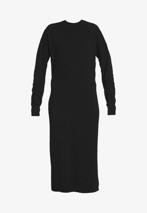 DOLMAN SHEATH SOLID - Jumper dress - black