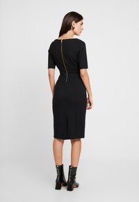 Banana Republic - BOATNECK PONTE SHEATH - Shift dress - black - 3