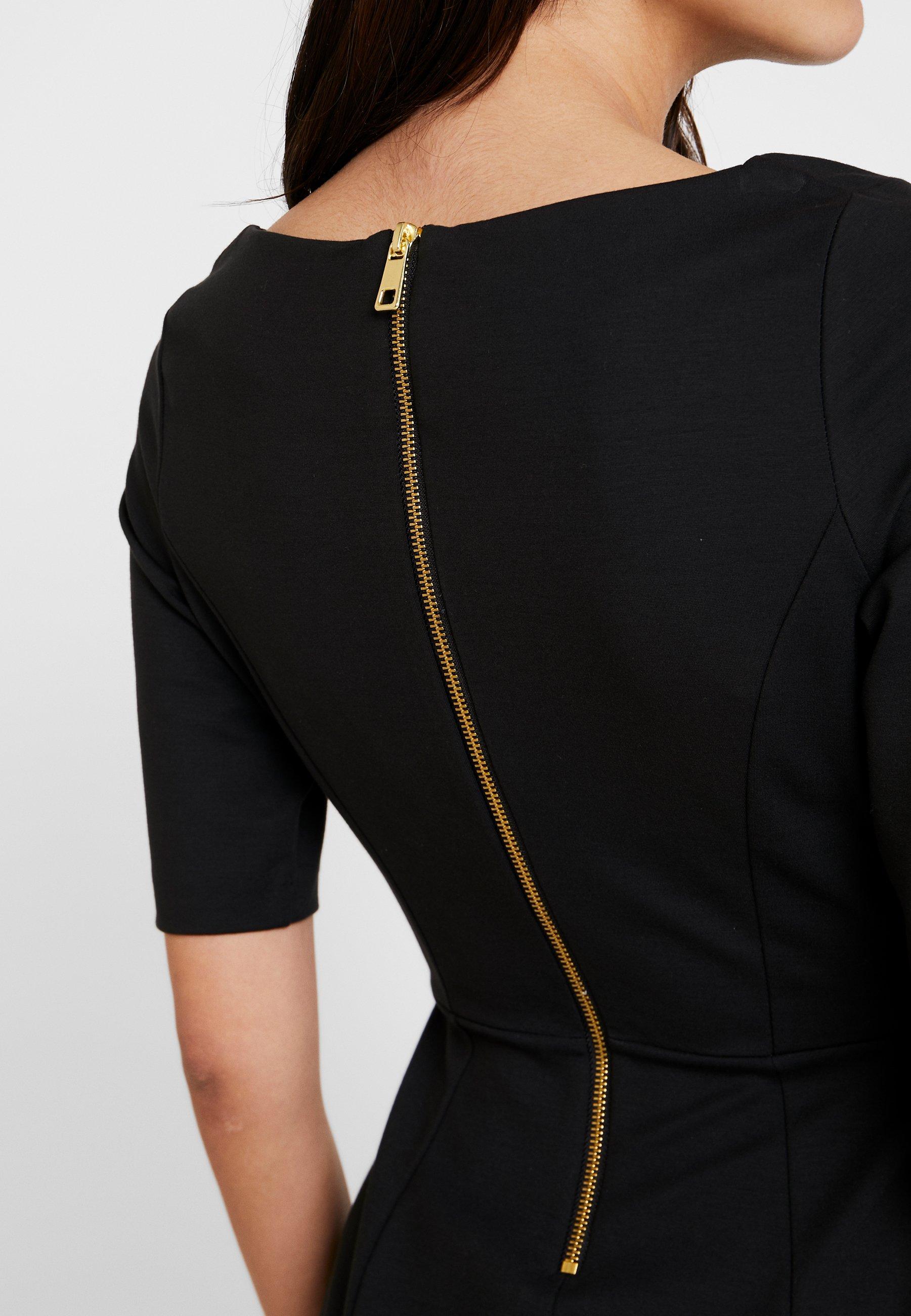 Banana Republic BOATNECK PONTE SHEATH - Sukienka etui - black