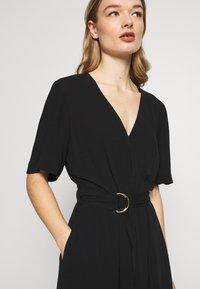 Banana Republic - RING WRAP SOLID - Day dress - black - 4