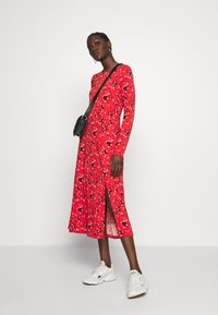 Banana Republic - CREW PRINT - Korte jurk - red - 1