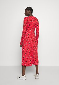 Banana Republic - CREW PRINT - Korte jurk - red - 2