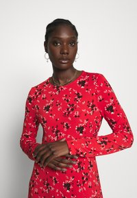 Banana Republic - CREW PRINT - Korte jurk - red - 3