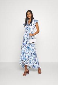 Banana Republic - VNECK HI LOW - Maxi dress - blue - 1