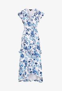 Banana Republic - VNECK HI LOW - Maxi dress - blue - 5