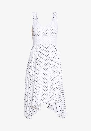 SWEETHEART PLEATED MIDI  - Kjole - white