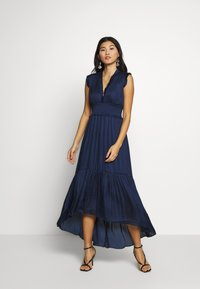 Banana Republic - VNECK HI LOW - Maxi dress - navy - 0