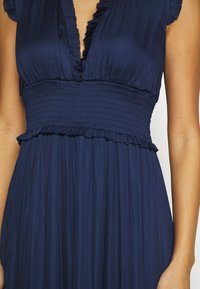 Banana Republic - VNECK HI LOW - Maxi dress - navy - 4