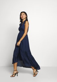 Banana Republic - VNECK HI LOW - Maxi dress - navy - 1